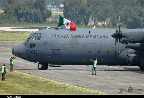 "6/o. Espectáculo Aéreo ""Estamos contigo, nuestra causa es México""."