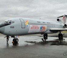 Avión de los Juegos Panamericanos 2011