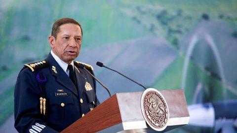 """Ceremonia del """"CI Aniversario de la Fuerza Aérea Mexicana""""."""