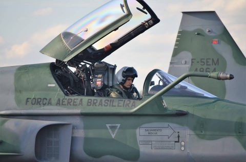 Northrop EMBRAER F-5M de la Fuerza Aérea Brasileña