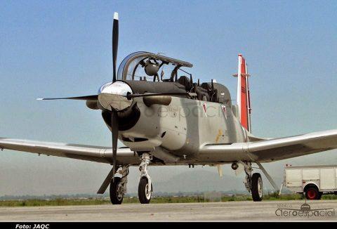 El T-6C en la Fuerza Aérea Mexicana