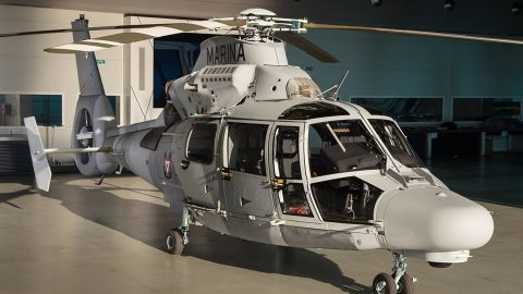AS-565MB Panther en la Aviación Naval Mexicana