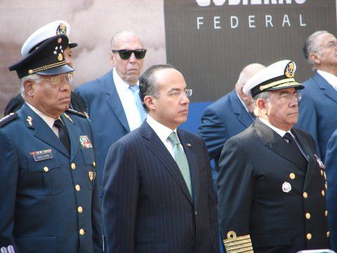 Ceremonia Conmemorativa del Escuadrón 201 en el año 2008.