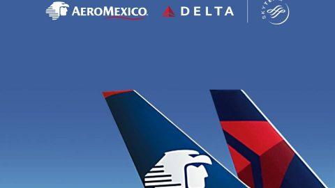 Aeroméxico y Delta anuncian una alianza histórica