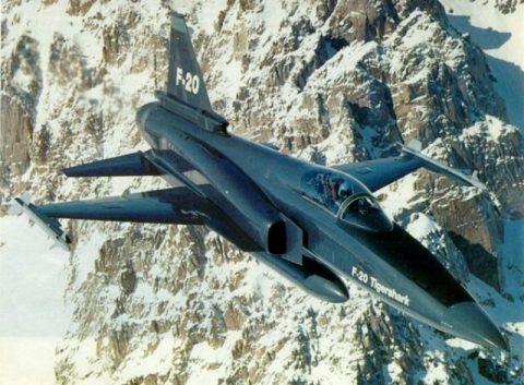 El desarrollo del F-5G/F-20A