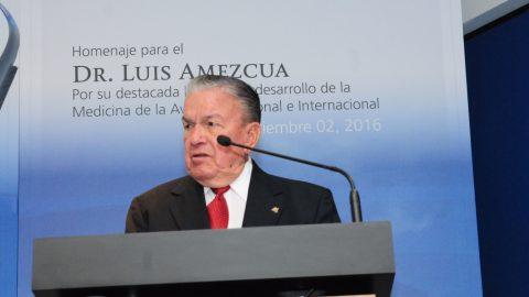 SENEAM y ASA rinden homenaje al doctor Luis Amezcua