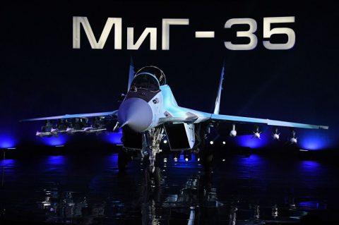 Presentación internacional del MiG-35