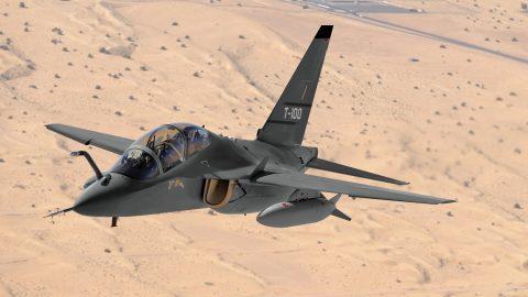 Raytheon deja el concurso del avión TX; el M-346 se queda solo