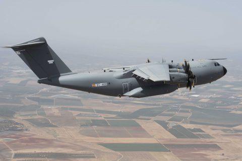 El A400M, en el  Ejército del Aire Español