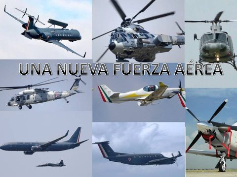 Una nueva Fuerza Aérea Mexicana