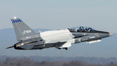 El Segundo T-50 alza el vuelo