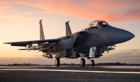 F-15SA para la Real Fuerza Aérea Saudita, la versión más moderna del Águila.