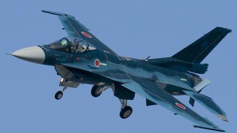 El Mitsubishi F-2 en Japón