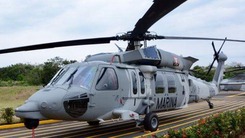 La Armada de México incorpora nuevos helicópteros a su  flota aeronaval