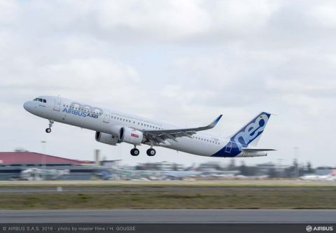 A321neo con motores LEAP-1A de CFM International