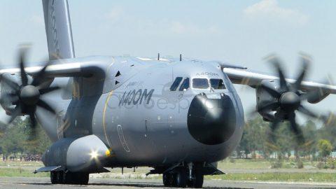 Airbus presenta  en Río el A400M