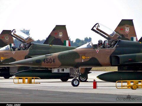 Northrop F-5E/F de la Fuerza Aérea Mexicana