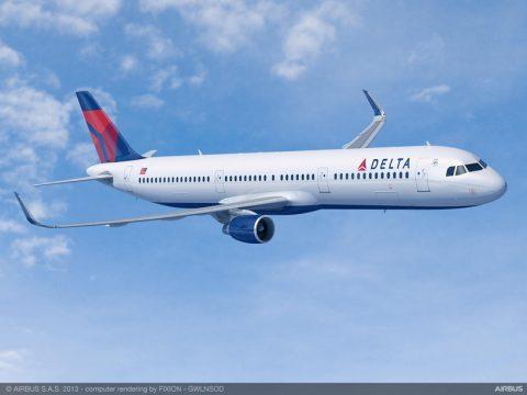 Delta solicita 30 aviones  A321