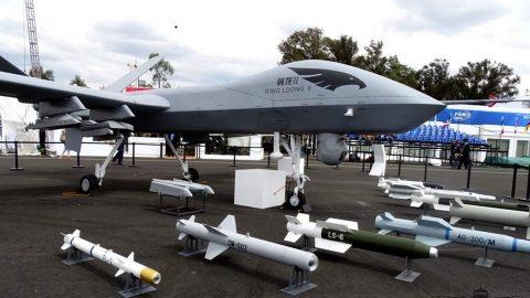 En FAMEX 17 compañías chinas de aeronáutica y tecnología para defensa buscaron estrechar lazos con México