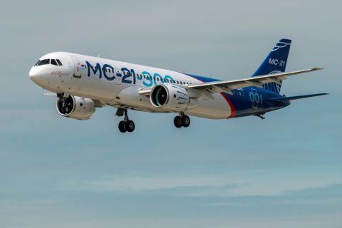 El nuevo MC-21, voló por primera vez