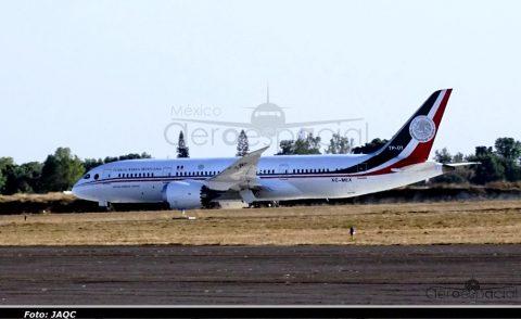 El Boeing 787 en México