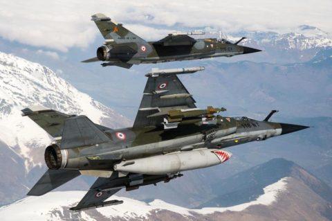 Francia vendió cazas Mirage F1 a una compañía privada