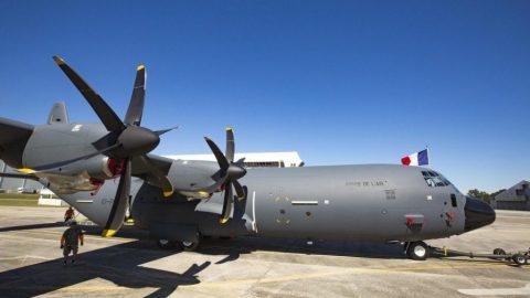 Lockheed Martin presenta el  C-130J-30 destinado a la Fuerza Aérea Francesa