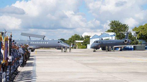 Aniversario de la Base Aérea Militar No. 8.