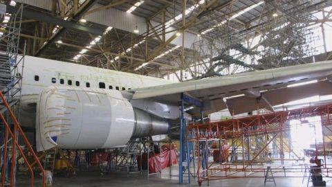 El MRO de Mexicana convierte un Boeing 767 en avión carguero