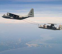 Avances en el programa del avión  E-2D Advanced Hawkeye