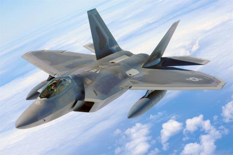 El F-22A Raptor