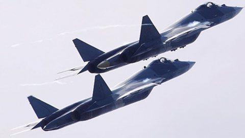 Rusia envía el SU-57 a Siria