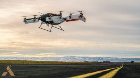 Airbus presenta vehículo volador autónomo eléctrico