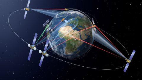 La autopista espacial de datos SpaceDataHighway