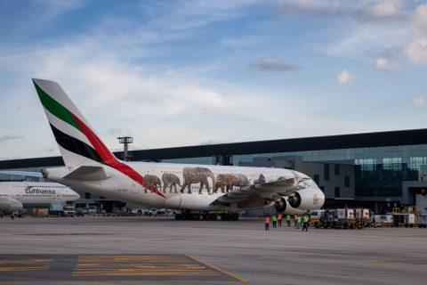 Airbus celebra un año de operaciones del A380 de Emirates en São Paulo