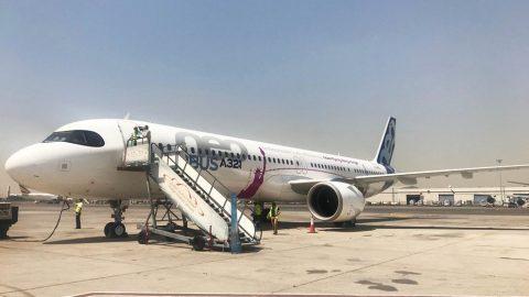 El A321LR realiza un vuelo sin precedentes y rompe récord