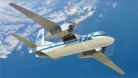 AN-132, el nuevo avión de Antonov