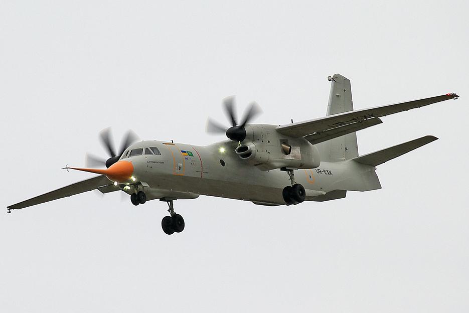 Antonov_An-132D_maiden_flight_at_Gostomel_(cropped)