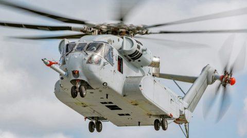 Sikorsky entrega el primer CH-53 King Stallion al USMC