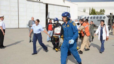 México apoya a Guatemala por erupción de Volcán