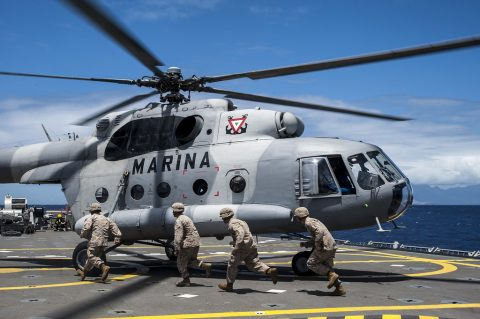 La Armada de México participara en Rimpac 2018