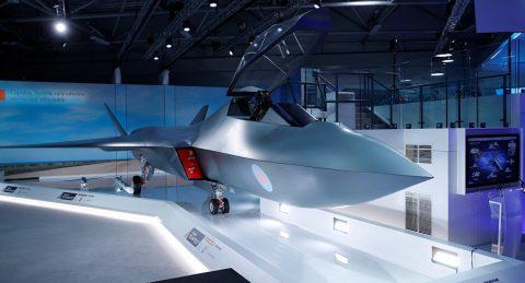 Reino Unido se adelanta y proyecta su caza de sexta generación
