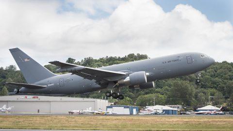 Despega el KC-46 Pegasus