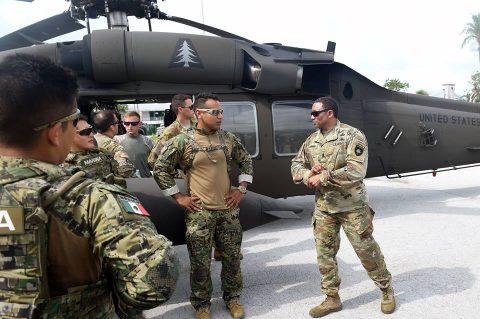 La Armada de México, en el ejercicio naval internacional Tradewinds 2018