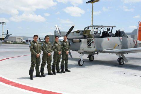 Ejercicio de intercepción aérea AMALGAM EAGLE 2018