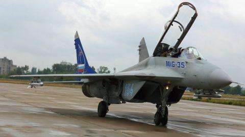 El Mig 35 un caza ruso de generación 4++,