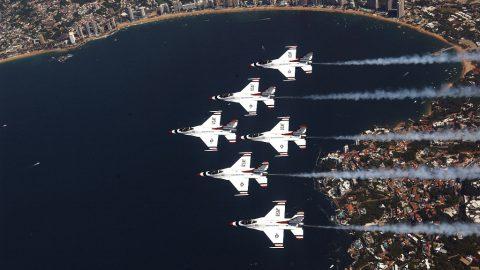 Thunderbirds en México