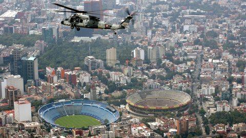 Volar sobre la Ciudad de México