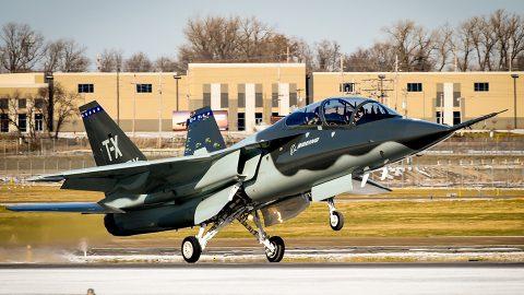 La propuesta de Boeing gana el concurso T-X