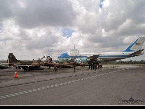 Sistema de Defensa Aérea durante visitas de mandatarios extranjeros a México.